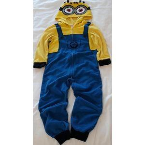 DESPICABLE ME Fleece Hooded Minion Pajama Sleeper